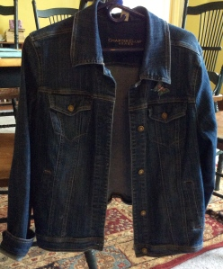 Everyone had a jean jacket but me. I felt left out. Until I found a rack of them at a consignment store. $10.