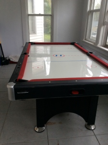 Bought from another neighbor who was moving. Multi-game table for $25.