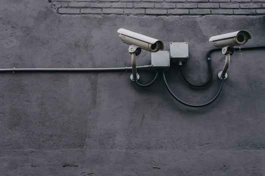 equipment pavement security security camera