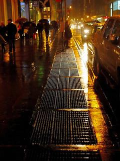 Sidewalk Grates, photo, Steven Pisano
